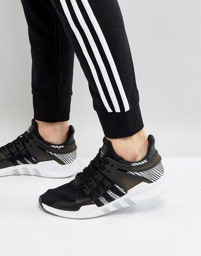 Nero uomo Scarpe da ginnastica nere - EQT Support ADV BY9585 - adidas Originals - Nero