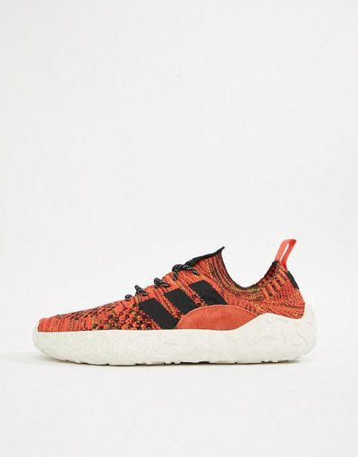 Rosso uomo Sneakers rosse B41737 - adidas Originals - F/22 PK - Rosso