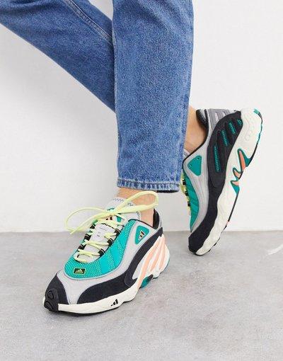 Stivali Grigio uomo adidas Originals - Sneakers grigie - FYW 98 - Grigio