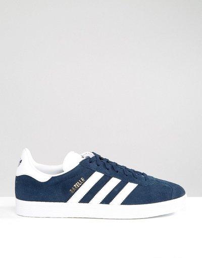 Stivali Navy uomo Sneakers blu navy - adidas Originals - Gazelle