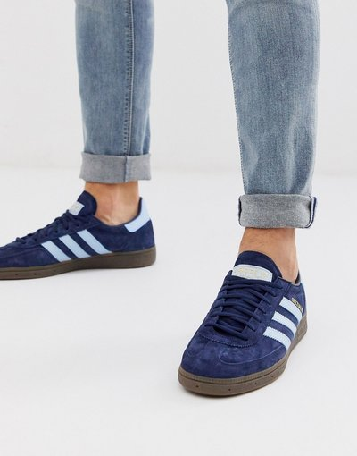 Stivali Navy uomo Handball Spezial - Sneakers blu navy - adidas Originals