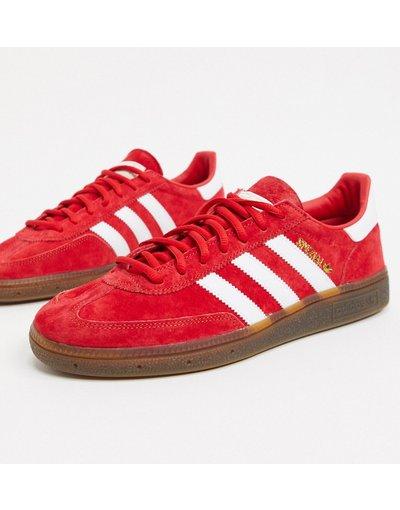 Sneackers Rosso uomo Handball Spezial - adidas Originals - Sneakers rosse - Rosso