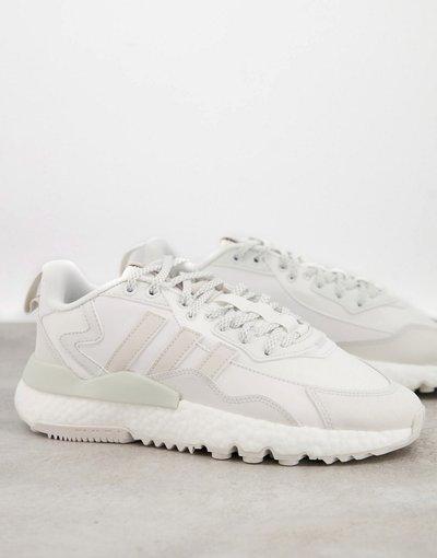 Stivali Bianco uomo Nite Jogger Winterized - adidas Originals - Sneakers bianche - Bianco