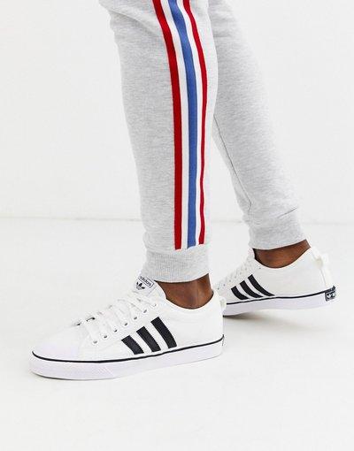 Stivali Bianco uomo adidas Originals - Sneakers bianche - Nizza - Bianco