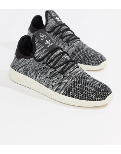 Bianco uomo Pharrell Williams Tennis HU CQ2630 - adidas Originals - Sneakers grigie - Bianco
