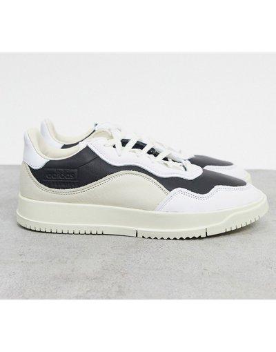 Sneackers Bianco uomo Sneakers colorblock bianco e nero - adidas Originals - SC Premiere