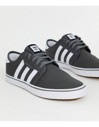 Stivali Nero uomo adidas Originals - Sneakers grigie - Seeley - Nero