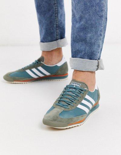 Stivali Verde uomo adidas Originals - Sneakers verdi - SL 72 - Verde