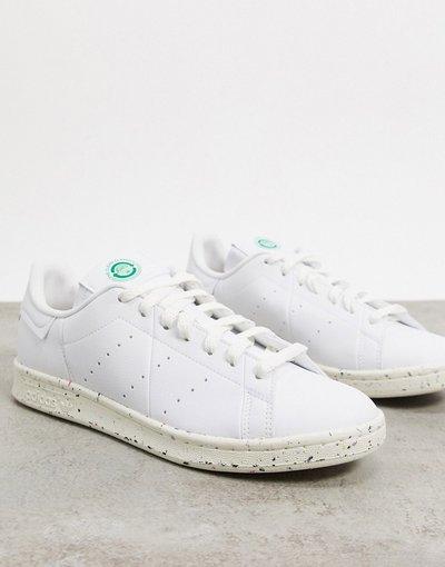 Sneackers Bianco uomo Scarpe da ginnastica bianche classiche linea pulita - adidas Originals - Stan Smith - Bianco