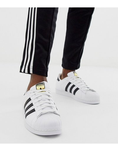 Nero uomo Sneakers bianche C77124 - adidas Originals - Superstar - Nero