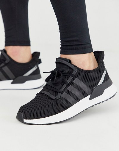 Stivali Nero uomo adidas Originals - Sneakers nere - Path Run - Nero - U