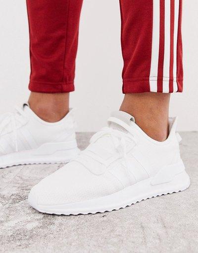 Stivali Bianco uomo Sneakers da corsa bianche - adidas Originals - Bianco - Path - U