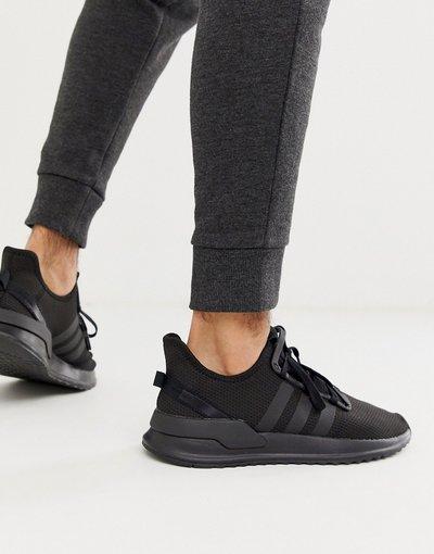 Stivali Nero uomo Sneakers da corsa triplo nero - adidas Originals - path - U