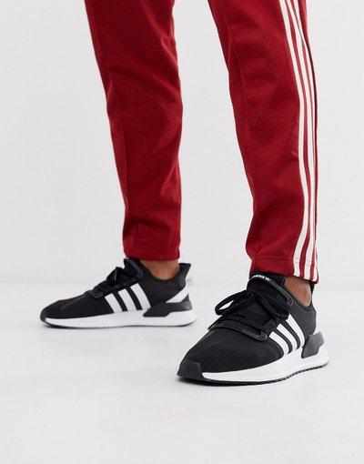 Stivali Nero uomo Sneakers nere da running - adidas Originals - path - Nero - U