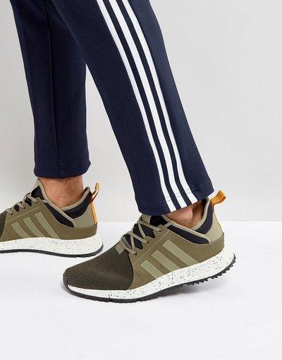 Verde uomo Scarpe da ginnastica alte verdi - adidas Originals - X_PLR BZ0670 - Verde