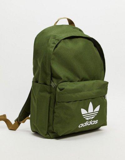 Borsa Verde uomo adidas Originals - Zaino kaki - Verde
