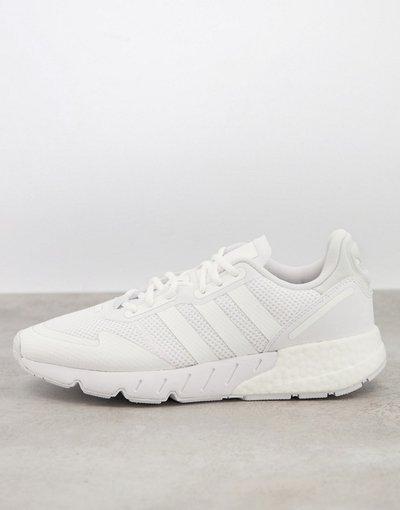Sneackers Bianco uomo Sneakers in triplo bianco - adidas Originals - ZX 1K Boost