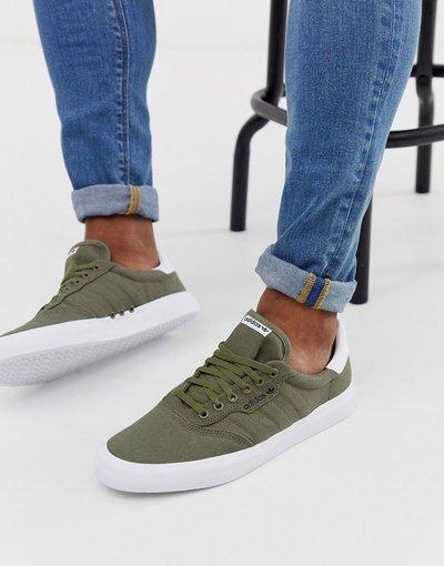 Verde uomo adidas Skateboarding - Sneakers kaki - 3MC - Verde