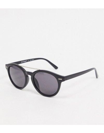 Occhiali Nero uomo Occhiali da sole modello aviatore nero opaco - AJ Morgan
