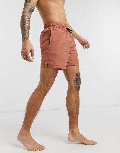 Costume Cuoio uomo Pantaloncini da bagno - Another Influence - Cuoio