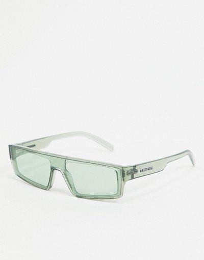 Occhiali Verde uomo Occhiali da sole squadrati verdi - Arnette x Post Malone - Verde