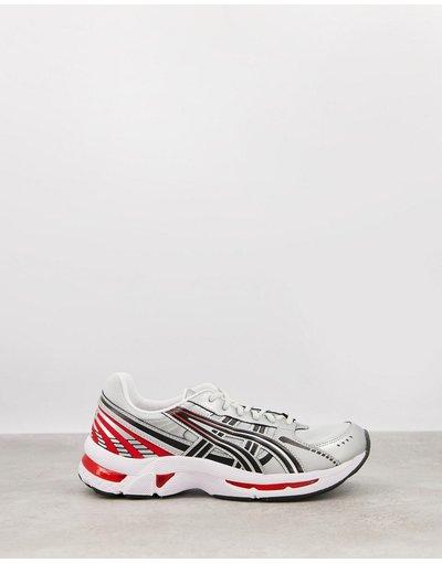 Sneackers Grigio uomo Sneakers argento e rosse - Gel Kyrios - Asics - Grigio
