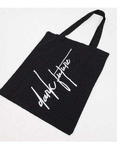 Borsa Nero uomo Maxi borsa pesante con logo, colore nero - Dark Future - ASOS
