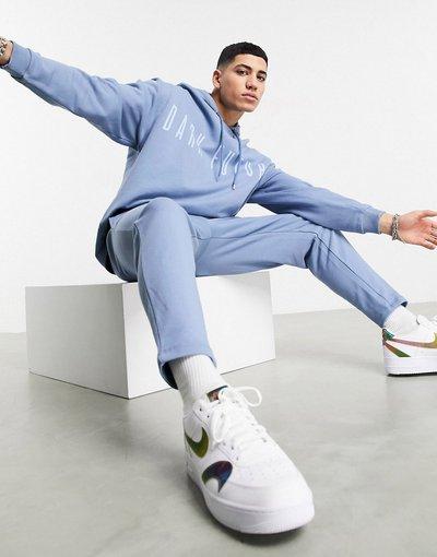 Novita Blu uomo Tuta sportiva blu con logo sul petto - ASOS Dark Future
