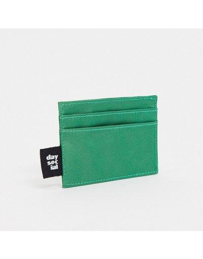Portafoglio Verde uomo Portacarte in nylon verde con logo - ASOS Day Social