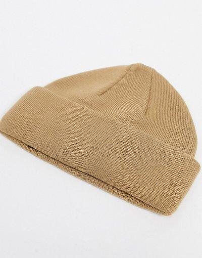 Cappello Marrone uomo Berrettino da pescatore marrone chiaro - ASOS DESIGN