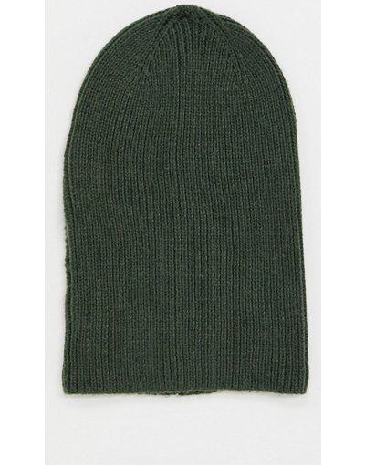 Cappello Verde uomo Berretto ampio verde oliva - ASOS DESIGN