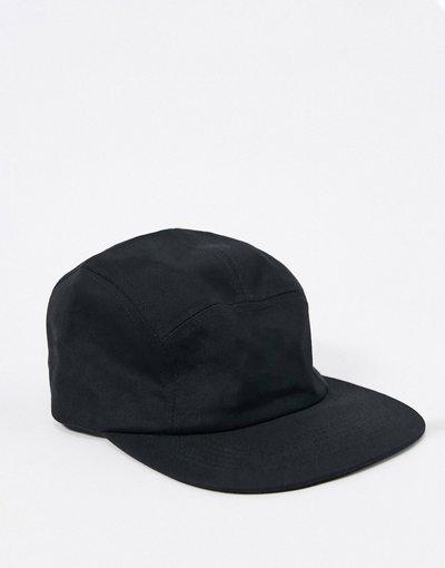 Cappello Nero uomo Cappellino con 5 pannelli nero - ASOS DESIGN