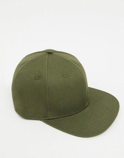 Cappello Verde uomo Cappellino snapback kaki - ASOS DESIGN - Verde