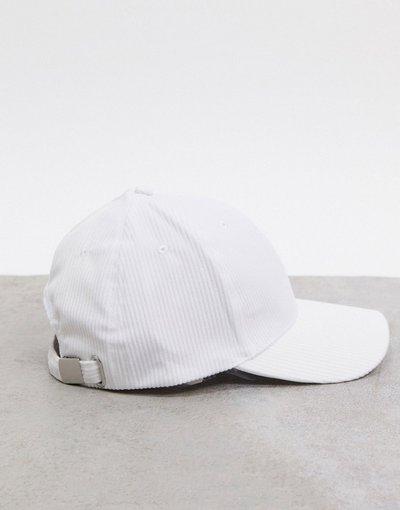 Cappello Bianco uomo Cappello con visiera bianco sporco in coordinato - ASOS DESIGN