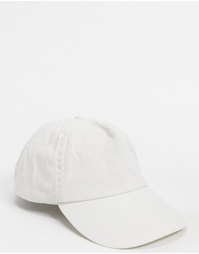 Cappello Pietra uomo Cappello con visiera grigio slavato - ASOS DESIGN - Pietra