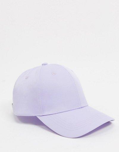 Cappello Viola uomo Cappello con visiera lilla - ASOS DESIGN - Viola