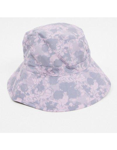 Cappello Viola uomo Cappello da pescatore tie - ASOS DESIGN - dye viola