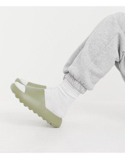 Infradito Verde donna Sliders kaki - ASOS DESIGN - Flyn - Verde