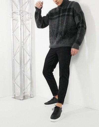 Jeans Nero uomo Jeans classici rigidi nero slavato - ASOS DESIGN