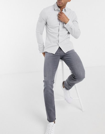 Jeans Grigio uomo Jeans skinny grigio slavato - ASOS DESIGN