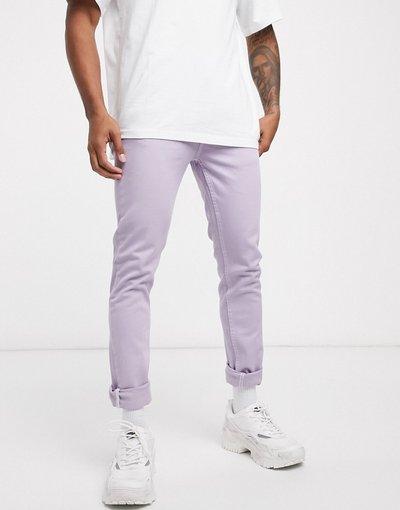 Jeans Viola uomo Jeans skinny lilla - ASOS DESIGN - Viola