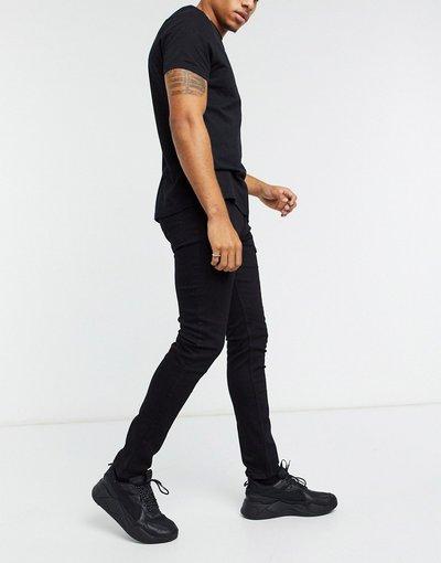 Jeans Nero uomo Jeans skinny neri - ASOS DESIGN - Nero