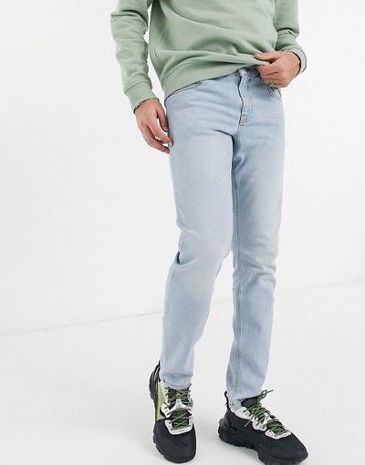 Jeans Blu uomo Jeans stretch slim blu lavaggio chiaro - ASOS DESIGN