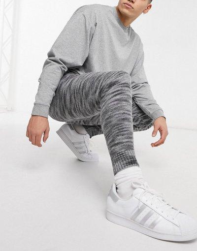 Pantalone Grigio uomo Joggers grigio mélange - ASOS DESIGN