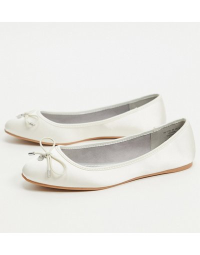 Scarpa bassa Bianco donna Ballerine avorio - ASOS DESIGN - Lallie - Bianco