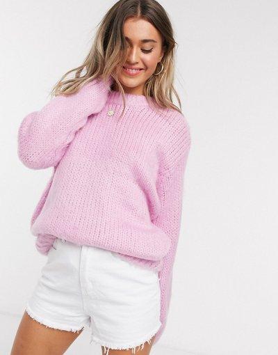 Rosa donna Maglione spesso rosa - ASOS DESIGN