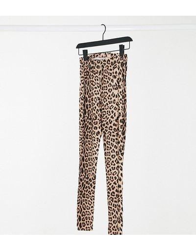 Maternita Multicolore donna Leggings con stampa leopardata - ASOS DESIGN Maternity - Multicolore