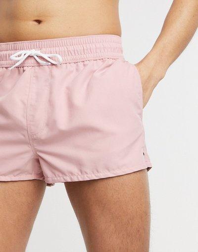 Costume Rosa uomo Pantaloncini da bagno super corti rosa - ASOS DESIGN