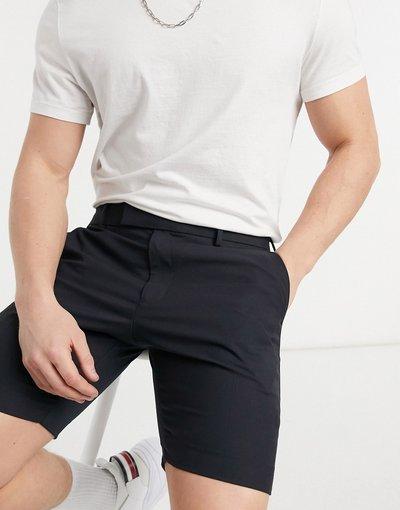 Blu navy uomo Pantaloncini eleganti skinny blu navy - ASOS DESIGN