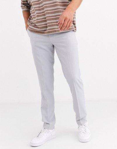 Pantalone Grigio uomo Pantaloni skinny eleganti grigio ghiaccio - ASOS DESIGN